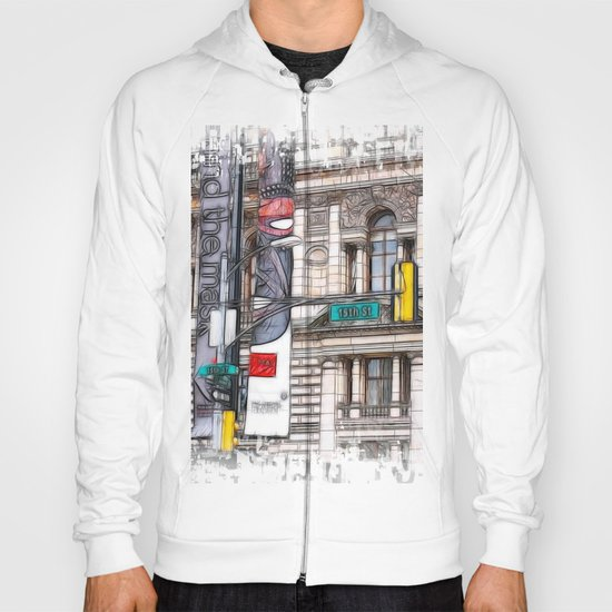 World War Z Street Location Hoody