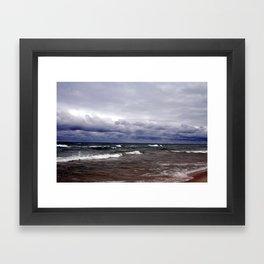 Great Lake Superior Framed Art Print