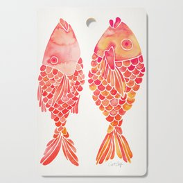 Indonesian Fish Duo – Melon Palette Cutting Board
