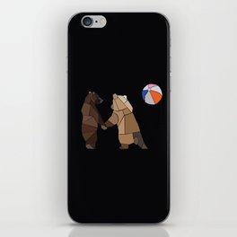 Puckish Bears iPhone Skin