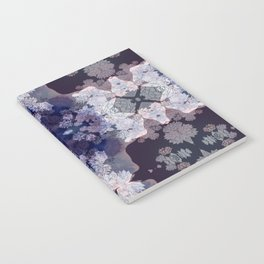 Big Fat Purple Pattern Notebook