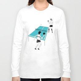 Ping Pong Game Long Sleeve T-shirt
