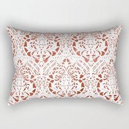Sanguine Vintage Pattern Rectangular Pillow