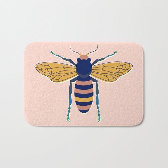 Color Bee I Bath Mat
