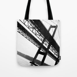 a bridge over troubled waters Tote Bag