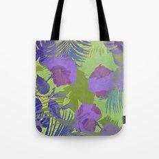 Hawaiian Purple Tote Bag