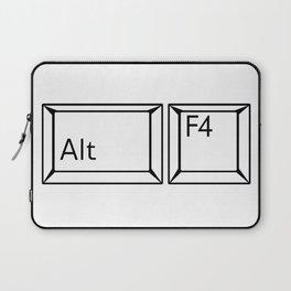 Alt F4 Buttons Laptop Sleeve