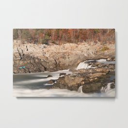 Great Autumn Falls Metal Print