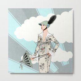 Art Deco 6 Metal Print