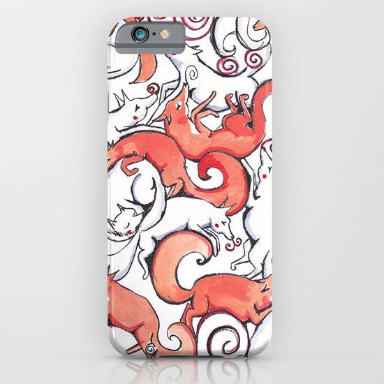 Fox Pattern iPhone & iPod Case