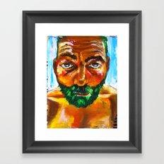 Le Frelon Étendard Framed Art Print