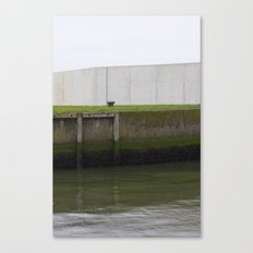 By the water Canvas Print