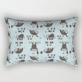 Super Hero Sloth Rectangular Pillow