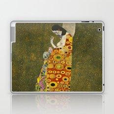 Hope II by Gustav Klimt  Laptop & iPad Skin