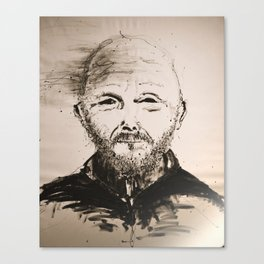 Terry on #canvas Canvas Print