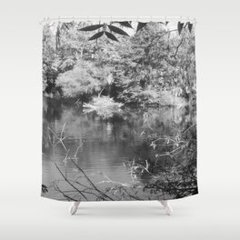 Pine Woods Of East Texas Exhibit Shower Curtain