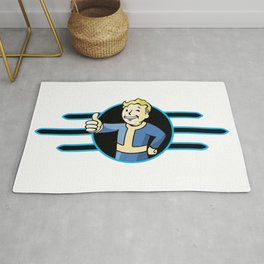 Fallout 4 Vault Boy Thumbs Up Rug