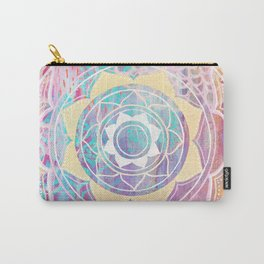 Mixed Media Mandala - Journey Carry-All Pouch