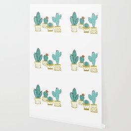 Cactus Garden    #society6artprint #decor Wallpaper
