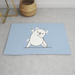 Yoga Dog III Rug