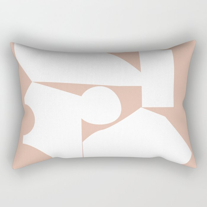Shape study #16 - Inside Out Collection Rectangular Pillow