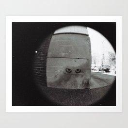 Eyes on the Street Art Print