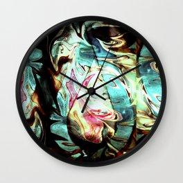 Tong Pose 0 Wall Clock