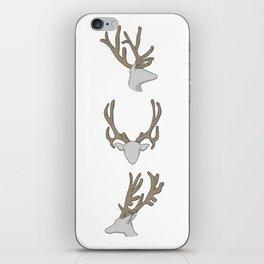 Three little Deer iPhone Skin