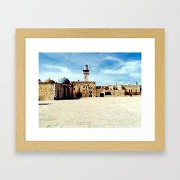 Temple Mount, Old City of Jerusalem Framed Art Print