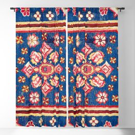 Cuenca Spanish 18th Century Rug Print Blackout Curtain