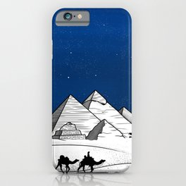 The pyramids of Giza iPhone Case