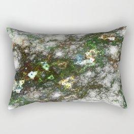 Neural Nodes Rectangular Pillow