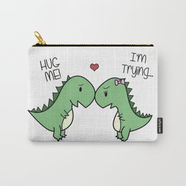 Sad T-Rex Love Carry-All Pouch