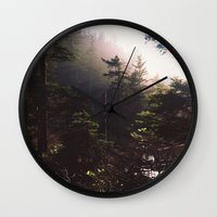 forrest Wall Clocks featuring Forrest by The Beard Fairmans