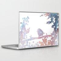 birdy Laptop & iPad Skins featuring Birdy by Natashia Lee