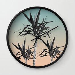 Palm Trees - Cali Summer Vibes #7 #decor #art #society6 Wall Clock