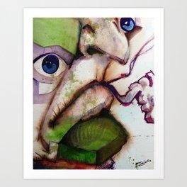 Paps Art Print