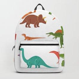 Dinosaur identificacion design Gift Types of dinosaurs graphic Backpack
