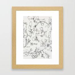 Botanical Bold Framed Art Print