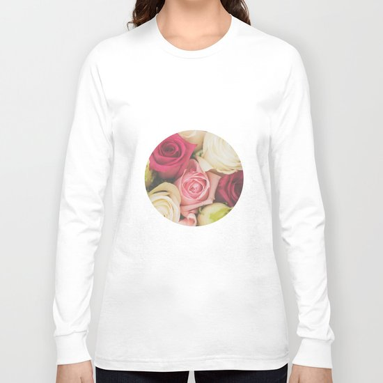 Vintage Roses  Long Sleeve T-shirt