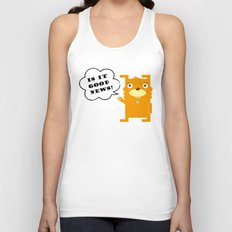 Is it good news?? Unisex Tank Top