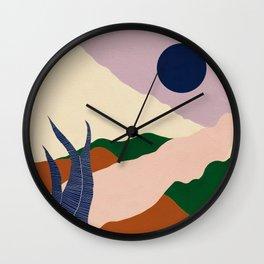 Intangible Land II Wall Clock