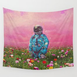 The Flower Field Wall Tapestry