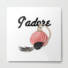 perfume Jadore Metal Print