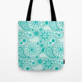 Bohemian Dream in Turquoise Tote Bag