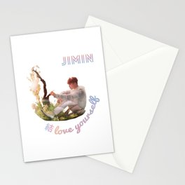 BTS Love Yourself Answer Design - Jimin Stationery Cards