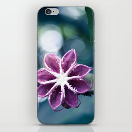 Single Little Purple Flower iPhone Skin