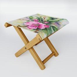 Cherry Blossom Folding Stool