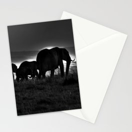 Elephant Family Stationery Cards