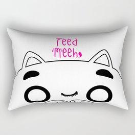 Feed Meeh ♥ Rectangular Pillow